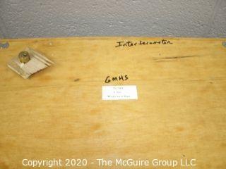 Michelson laser interferometer.  Item never assembled.
