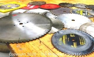 Group of Table Saw Blades