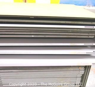 "46"" x 54"" x 47""T Vintage Metal Flat File Chest, made by Ranplan."