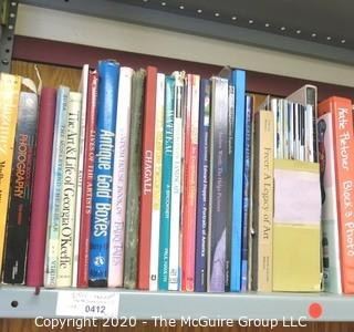 Large Group of Art Books