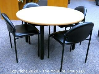 Group of Library Tables & Chairs.