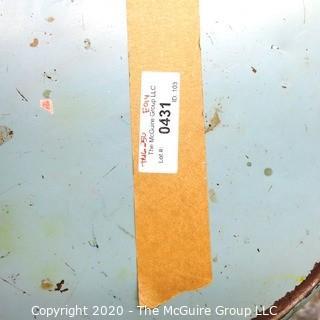 (6) Industrial Metal Stools