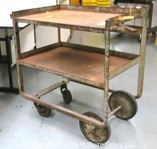 Heavy Steel Rolling Cart
