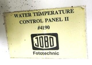 JOBO Water Temperature Control Panel, Removed from Wall