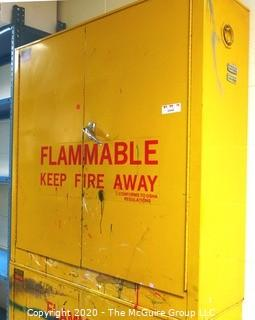 "43w x 18d x 45""t Flammable Cabinet"