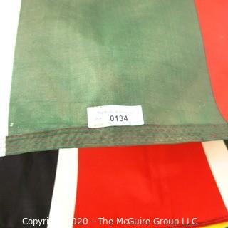 Group of Large International Flags. Various Countries