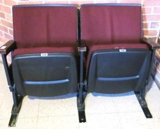 Pair of Auditorium Seats