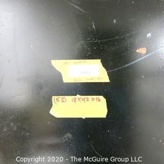"Set of (20) 18w x 16""d x 42""t Double Sided Mesh Door Lockers."