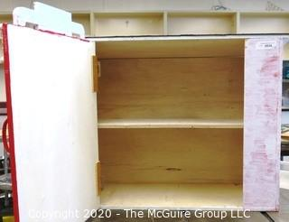 """Student Made State Theater Little Library Box.  Measures approximately 30"""" x 23""""x 12."""