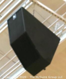 Gymnasium Sound Speaker System.  (Bidder to remove from ceiling)