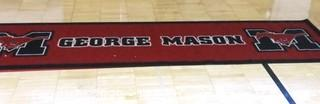 George Mason Basketball Sports Mat