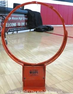 New Indoor Basketball Rim made by Gared Sports