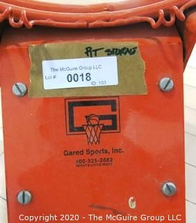 New Basketball Rim Made by Gared Sports.