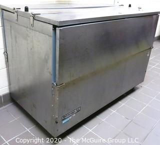 KITCHEN EQUIPMENT: Beverage-Air Stainless Steel Cooler; Model ST58N; As Is