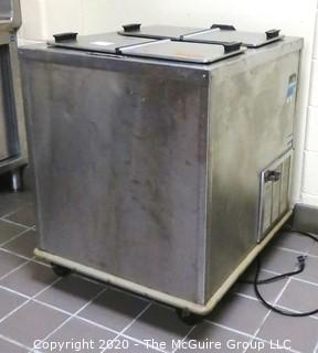 Shellymatic 4 door flip lid Ice Cream Freezer; condition unknown