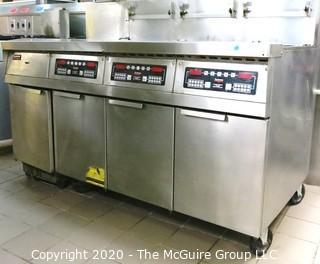 (4) Frymaster Fryers by Merco, Model# HWEZFWM-24C