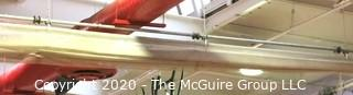 Gymnasium Dividing Curtain; Ceiling mounted.