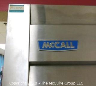 """McCall 4-door internal rack refrigerator Model 1-1045  55"""" wide"""