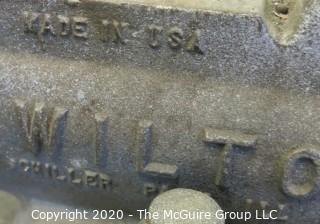 "WILTON ""Bullet"" Swiveling Machinists Vise; Model 60176; Made in Schiller Park, Illinois"
