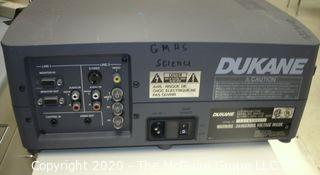 DUKANE VIDEO PROJECTOR IMAGE PRO 28A7010 no accessories Untested
