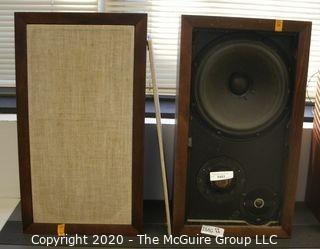 Pair of Vintage Acoustic Research AR-3a speakers from the 1970's