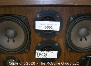 Pair of Vintage 1973 Kenwood KL-777 4-Way 6-Speaker System 100W Speakers