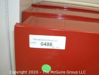 (6) Laboratory Fire Blankets with metal wall mounting cabinets