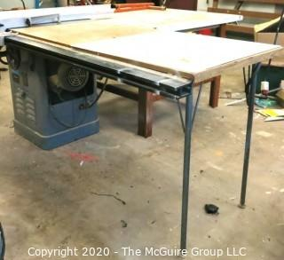 Delta Rockwell Unisaw Table Saw W/Fence and side table