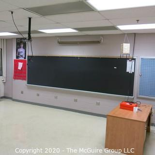 4' X 16' BLACK BOARD (YOU MUST REMOVE YOURSELF)