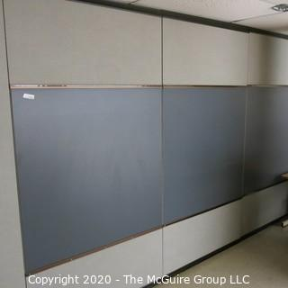 Four Panels Of 4' X 4' Black Board (You Must Remove)
