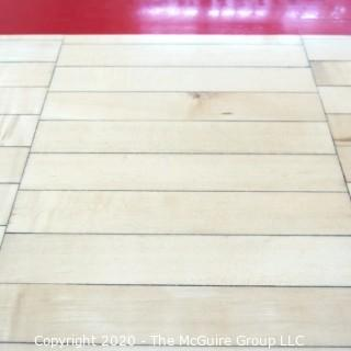 """One 12"""" x 2"""" Floor Board from the """"Pit"""" Basketball Hard Court. Own a Piece of George Mason Basketball History."""
