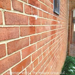 "(1) Red Clay Brick from the Exterior Wall Near ""The Pathway"".  Own Your Own Piece of George Mason High School."