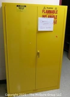 "43w x 18d x 66""t Flammable Cabinet"