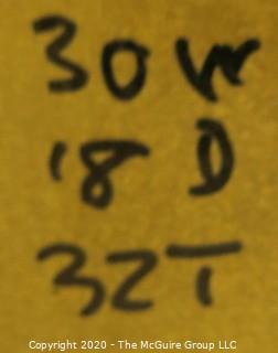 """30w x 18d x 32""""t ACID Cabinet"""