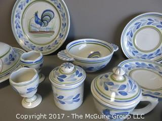 Collection of French Quimper - see all the photos