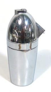 Soda King Siphon Bottle; Designed by Norman Bel Geddes; Walter Kidde Sales Co. Inc., Bloomfield, NJ