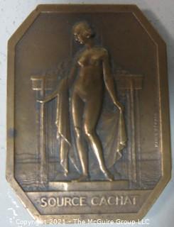 """Bronze Medal: """"La Societe des Eavx Minerals d'Evian - Cachat"""""""