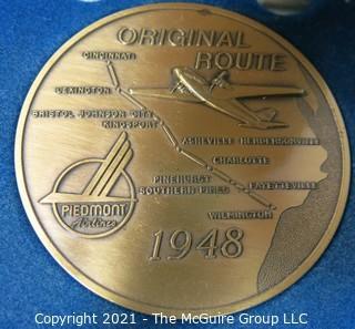 Piedmont Airlines Bronze Medal: Original Route 1948