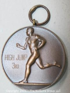 U.S. Track and Field Federation 3rd Place Bronze Medal for the High Jump
