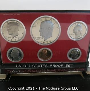 1978 United States Proof Coin Set with Original Packaging