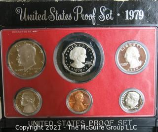 1979 United States Proof Coin Set with Original Packaging