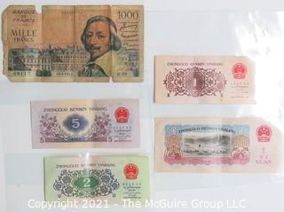 Collection of Foreign Bank Notes