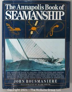 "Book: ""The Annapolis Book of Seamanship""; by John Rousmaniere; Simon and Schuster, NY 1983"