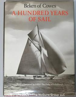 A Hundred Years of Sail by Beken of Cowe, Hard Cover Book,