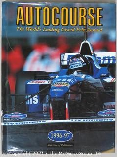 """Book: """"Autocourse - The World's Leading Grand Prix Annual""""; 1996-97"""