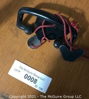 Unitron Phase MSL No-108900 Binocular Stereoscope With Wood Case