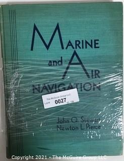 Marine and Air Navigation, John Quincy Stewart, 1944 Book
