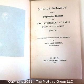 Groups of Miscellaneous Books