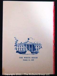 Ephemera: Political: 1969 Nixon program from Marine Corp Band performance