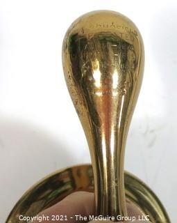 Vintage Heavy Brass Screw Keg Tap or Spigot